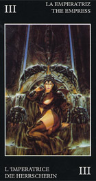 Tarot Negro La Emperatriz