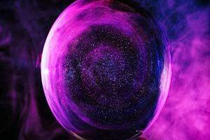 Tarot del oráculo mágico de la bola de cristal