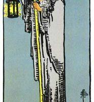 que significa la carta de el ermitaño en el tarot