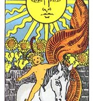 que significa la carta de el sol en el tarot