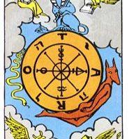 que significa la carta de la rueda de la fortuna en el tarot