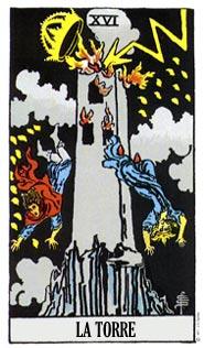 que significa la carta de la torre en el tarot