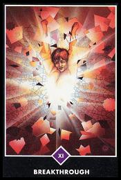 El Gran Avance carta 11 tarot osho