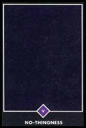 La Nada carta 5 tarot osho