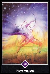 La Nueva Vision carta 12 tarot osho
