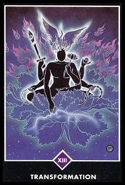 La Transformacion carta 13 tarot osho