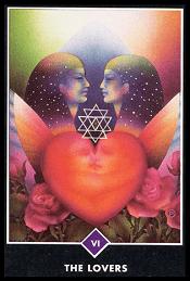 Los Enamorados carta 6 tarot osho