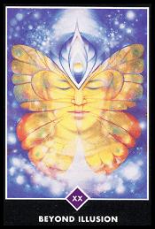 Más Allá de la Ilusión carta 20 tarot osho