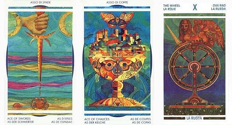 cartas del tarot cristal 2