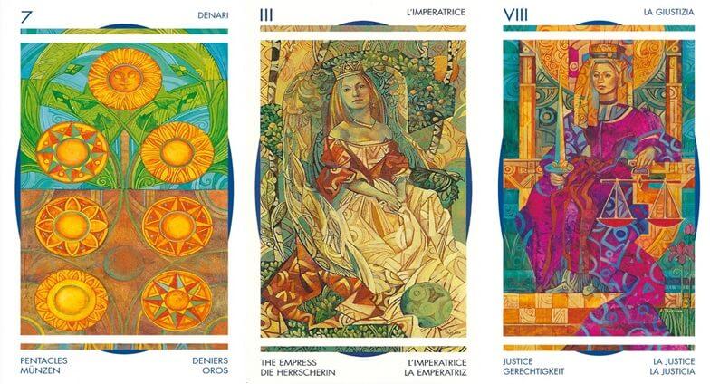 cartas del tarot cristal