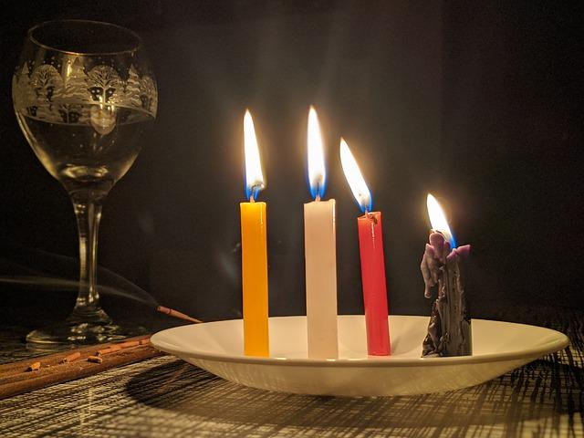 significado del color de las velas esotéricas