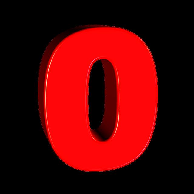 ¿Qué significa el número 0?