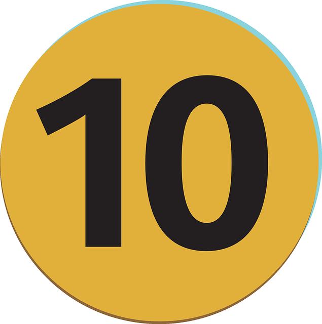 ¿Qué significa el número 10?