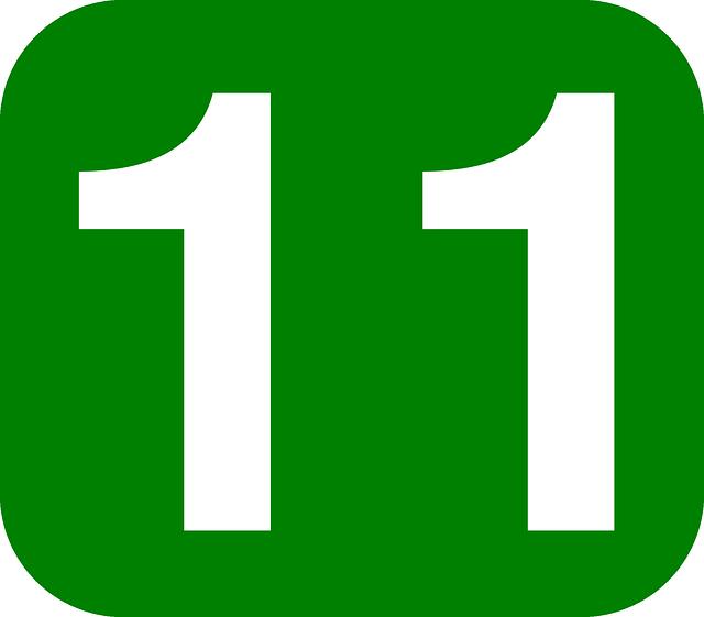 ¿Qué significa el número 11?