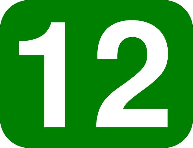 ¿Qué significa el número 12?