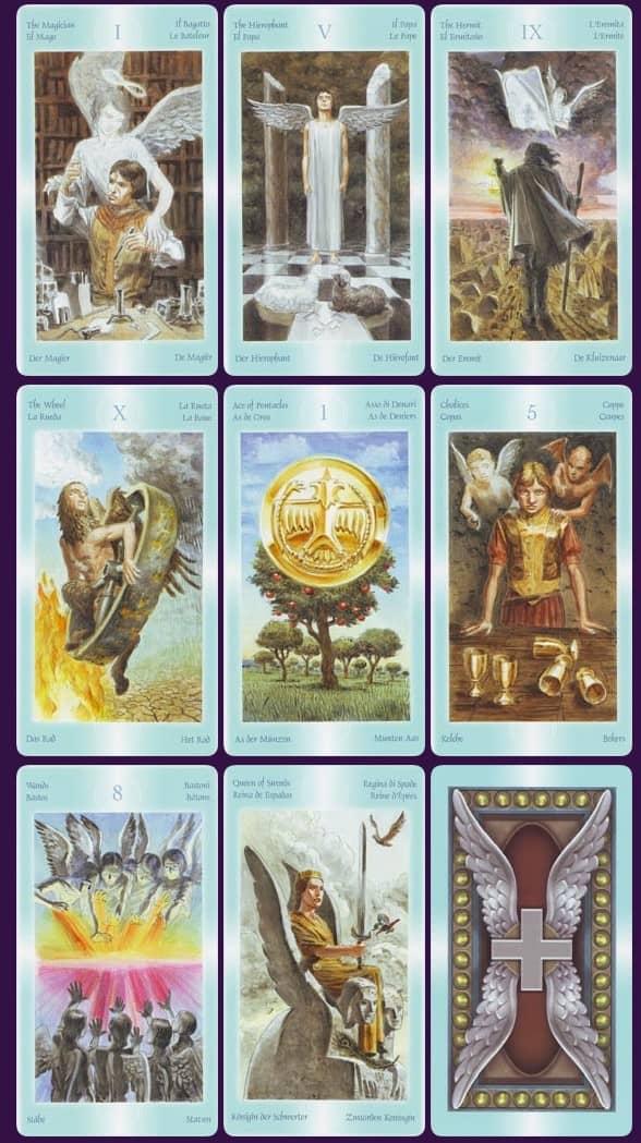significado y tirada gratis del tarot de los angeles y los arcangeles